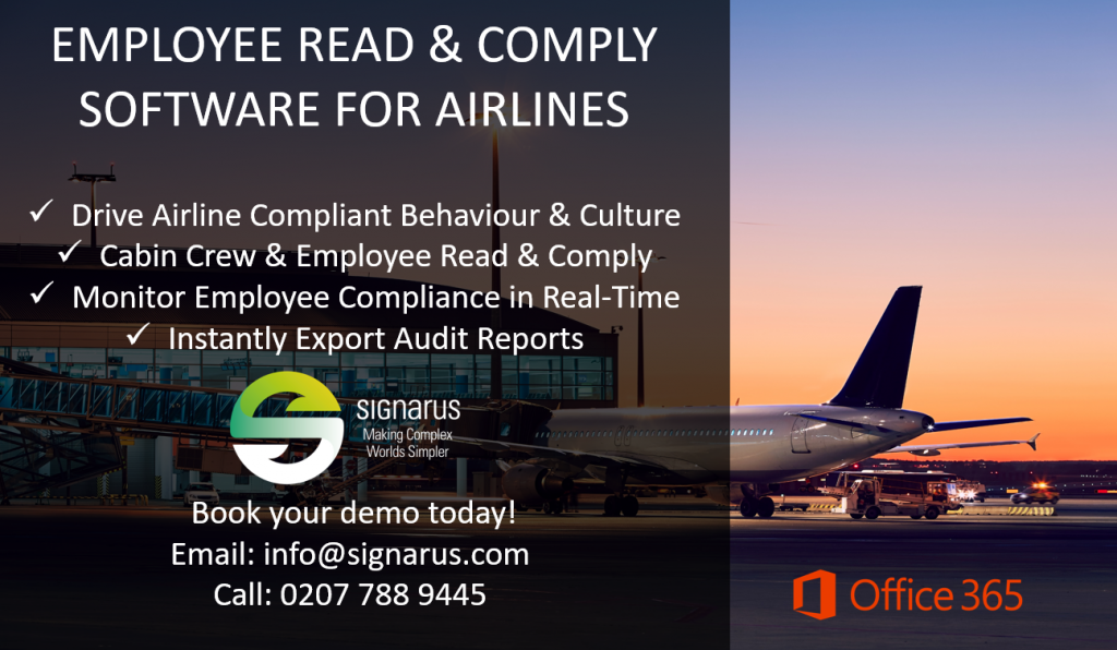 airline compliance solutions by Signarus