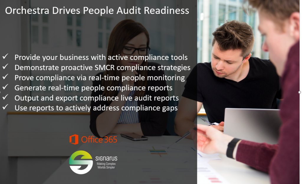 Orchestra people audit solutions by Signarus