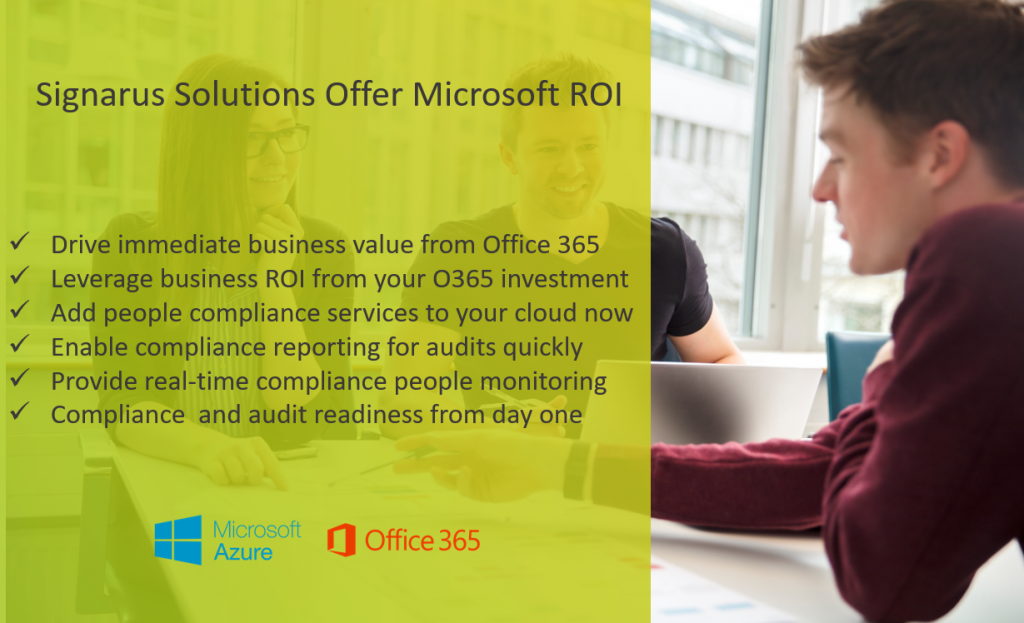 Signarus Office 365 ROI